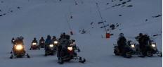 Initiation motoneige La Mongie Pyrénées
