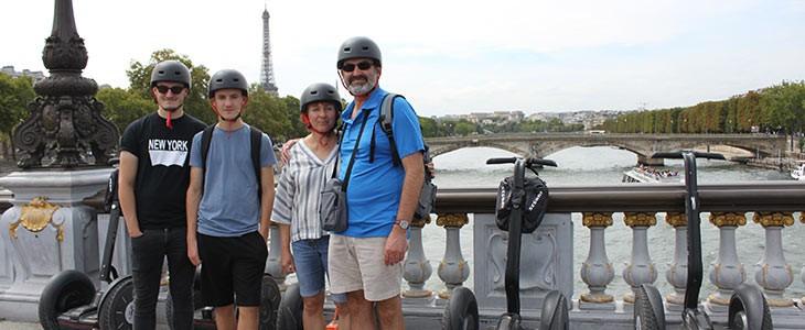 Visite guidée de Paris en Segway