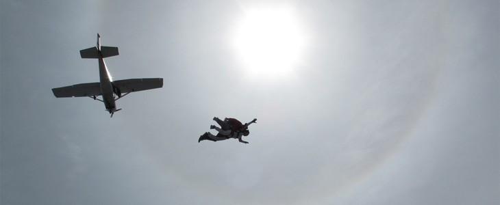 Saut chute libre en parachute Maubeuge