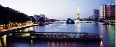 Diner en Bateau Croisière sur la Seine à Paris, Service Etoile