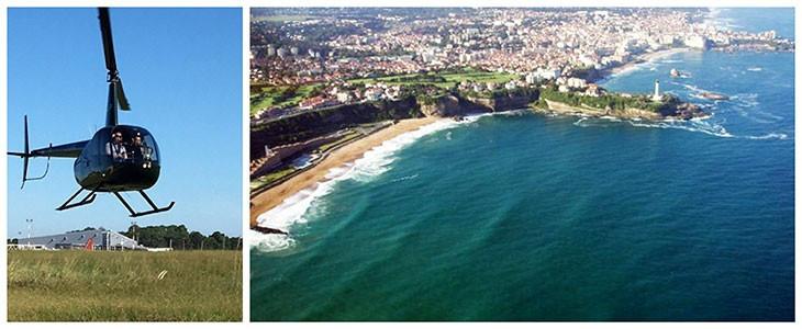 Pilotage hélicoptère Biarritz