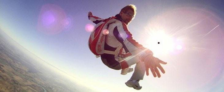 Saut en parachute tandem Chalon