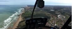 Vol hélicoptère Biarritz