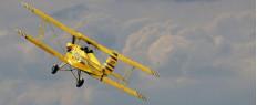 Voltige aérienne en avion vintage Namur - Belgique