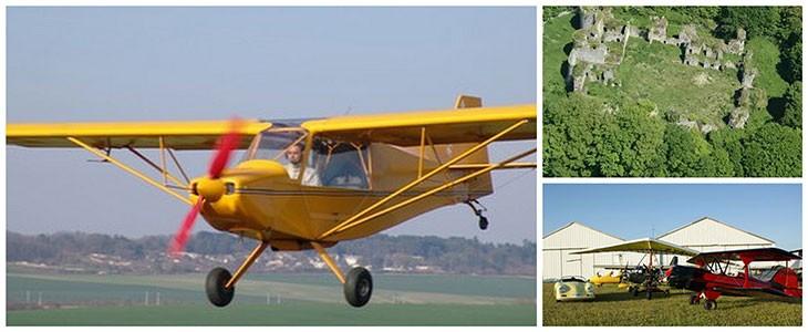 Pilotage ULM 3 axes pr. Sens Bourgogne (89)