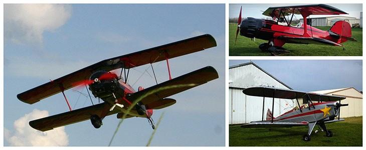 Piloter un avion biplan pr. Sens Bourgogne (89)