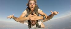 Saut chute libre en parachute à Soulac