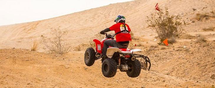 Excursion en quad ATV Nellis Dunes, Las Vegas