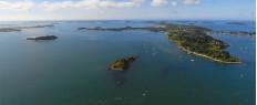 Baptême en hélicoptère Golf du Morbihan