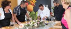 Cours de cuisine chef étoilé pr. Aix-en-Provence