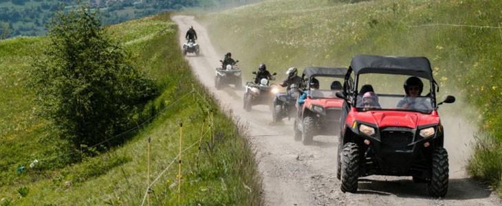 Randonnée buggy RZR à Bourg-Saint-Maurice La Vanoise