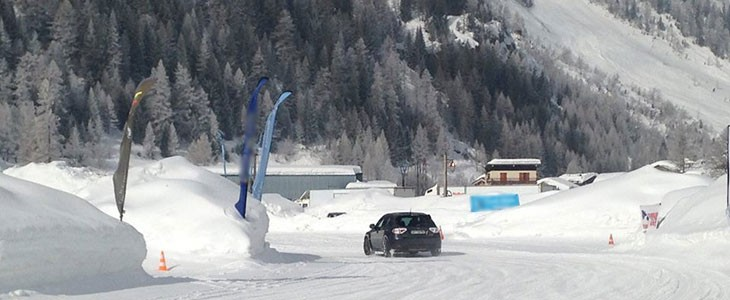 Stage multi-pilotage sur glace Tignes Savoie