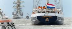 Croisière vieux gréement Tall Ships Races