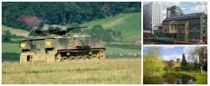 Week-end insolite tank Birmingham