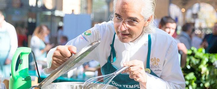 Cours de cuisine chef étoilé pr. Cavaillon Lubéron