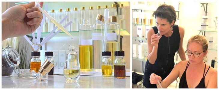 Atelier création de parfum à Nice
