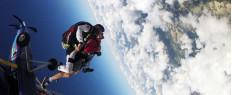 Saut en parachute tandem à Pau