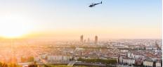 Baptême en hélicoptère Lyon