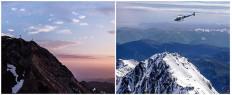 Vol en hélicoptère Pic du Midi de Bigorre Pyrénées