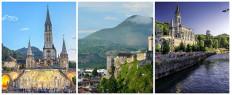 Vol privatif en hélicoptère sanctuaire de Lourdes