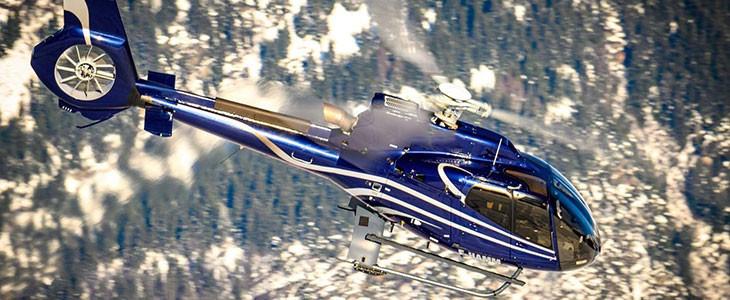 Vol en hélicoptère Courchevel Les 3 vallées