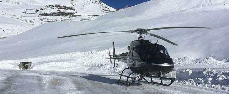 Vol en hélicoptère Tour du Mont Blanc depuis Courchevel