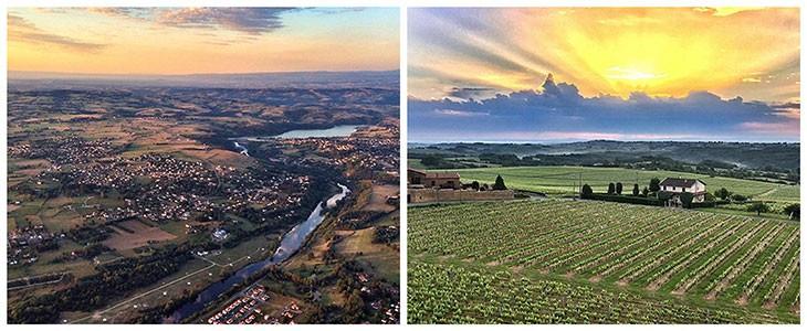 Vol en montgolfière Mâcon Sud Bourgogne