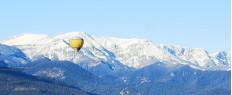 Vol en montgolfière Cerdagne Pyrénées Orientales