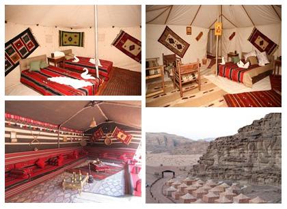 camp bedouin jordanie