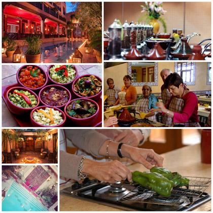 Cours de cuisine marocaine marrakech for Atelier cuisine marrakech