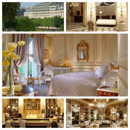 hotel le meurice paris france