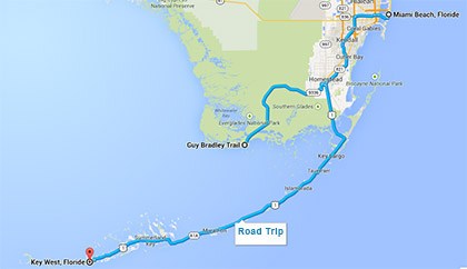 road map floride
