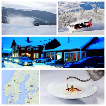 séjour motoneige et conduite sur glace suède