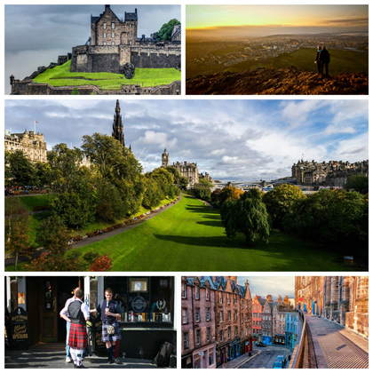 week-end edimbourg en ecosse
